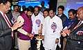 The Minister of State for Social Justice & Empowerment, Shri Ramdas Athawale lighting the lamp to launch the Golden Jubilee celebrations workshop for CEC members of AISCSTEWA, ONGC, in Visakhapatnam, Andhra Pradesh.jpg