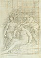 The Muses Euterpe, Polyhymnia, Calliope, Clio, and Terpsichore (recto); Sketch of a Sleeping Child (verso) MET DT6054.jpg