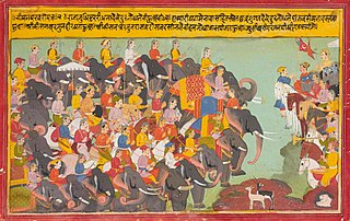 Kurukshetra War War described in the Hindu epic Mahabharata