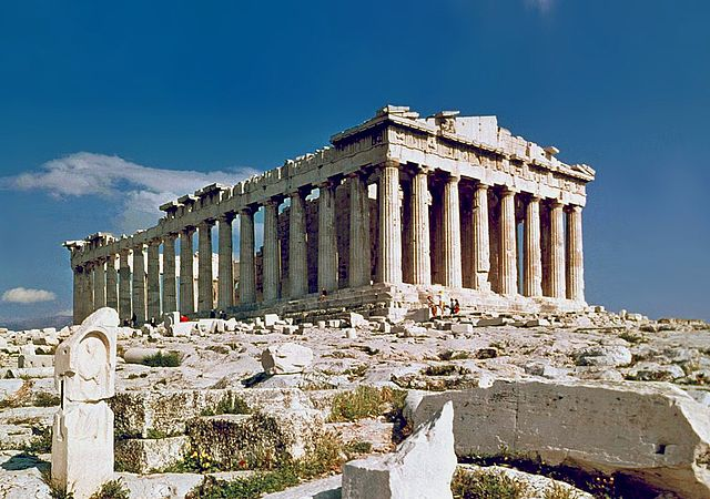 Parthenon, Athens Greece. Photo taken in 1978 - Steve Swayne