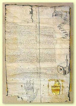 Achtiname of Muhammad