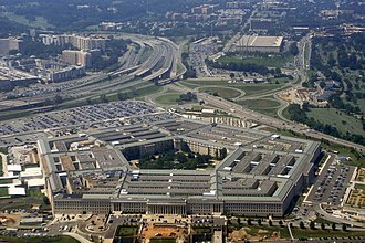George Bergstrom - Aerial view of The Pentagon