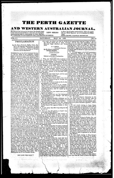 File:The Perth Gazette and Western Australian Journal 1(18).djvu