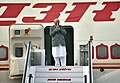 The Prime Minister, Shri Narendra Modi emplanes for Philippines to attend the ASEAN-India and East Asia Summits, in New Delhi on November 12, 2017 (1).jpg