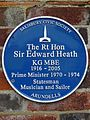 The Rt Hon Sir Edward Heath KG MBE 1916-2005 Prime Minister 1970-1974 Statesmen Musician and Sailor Arundells.jpg