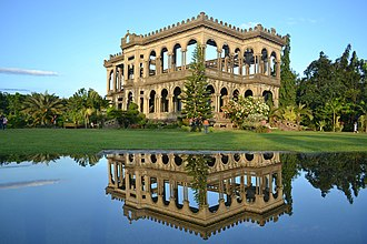 Talisay, Negros Occidental - Image: The Ruins Talisay