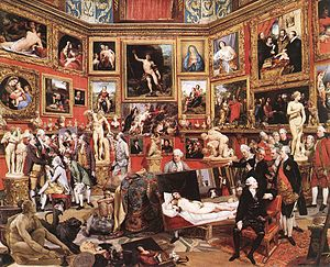The Tribuna of the Uffizi (1772-78); Zoffany, Johann.jpg