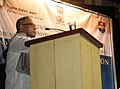The Union Finance Minister, Shri Pranab Mukherjee addressing at the 2nd Regional Consultation on Electoral Reforms at West Bengal National University of Juridical Sciences, in Kolkata on January 09, 2011.jpg