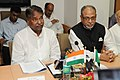 The Union Minister for Textiles, Dr. Kavuru Sambasiva Rao and the Minister of Textiles, Bangladesh, Mr. Abdul Latif Siddique at a joint press conference, in New Delhi on August 19, 2013.jpg
