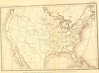 Agricultural Experiment Stations Act of 1887 - Agricultural experiment stations in the United States by 1900