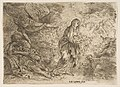 The angel awakening Joseph to the presence of the Virgin and Child MET DP816376.jpg