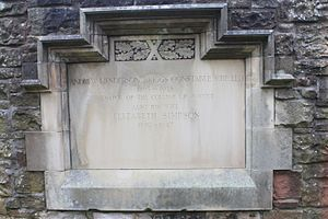 Andrew Constable, Lord Constable - The grave of Andrew Constable, Lord Constable, Dean Cemetery