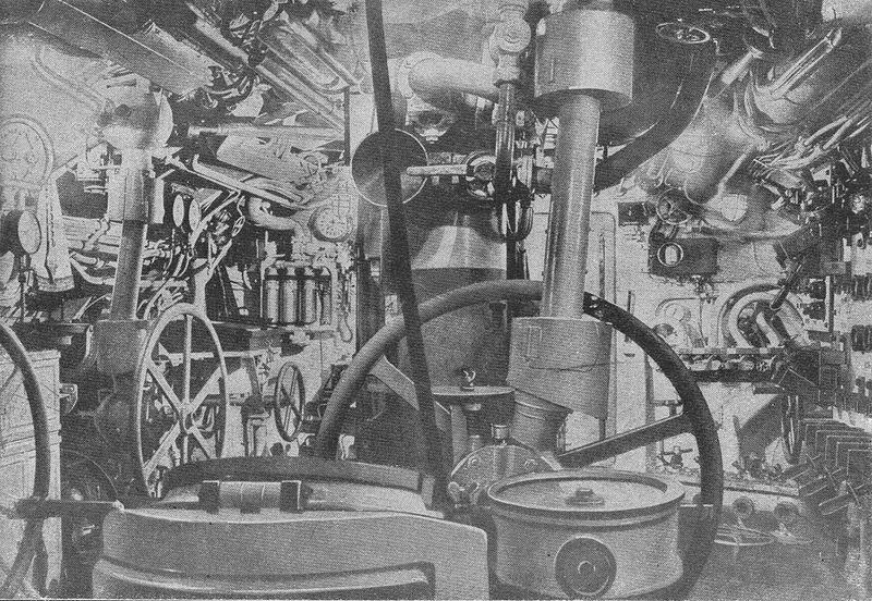 File:The interior of the merchant submarine Deutschland.jpg