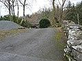 The lane to Tyn-y-bryn - geograph.org.uk - 1178045.jpg