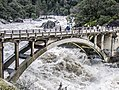 The old CA-49 bridge on the South Yuba River 2017.jpg