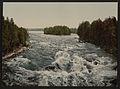 The rapids toward the pavillion, Imatra, Russia,(i.e., Finland)-LCCN2001697418.jpg