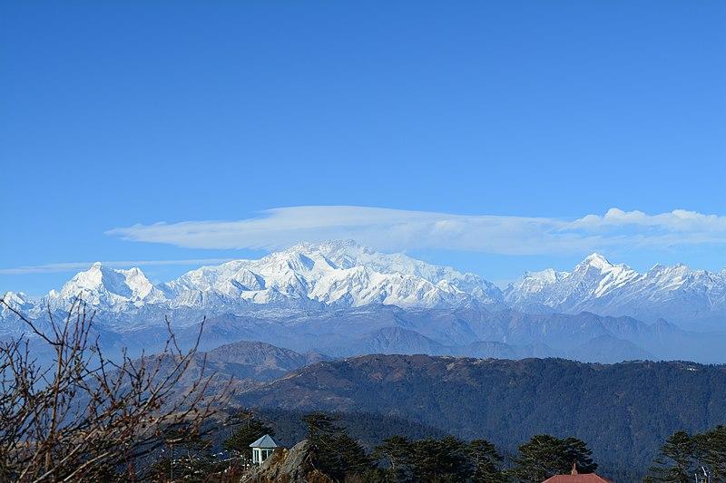 Kanchenjunga view from Sikkim