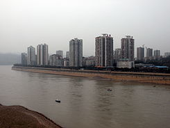 The view of the Jiangjin city along Yangtze river.jpg