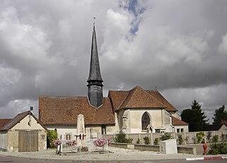 Thennelières Commune in Grand Est, France