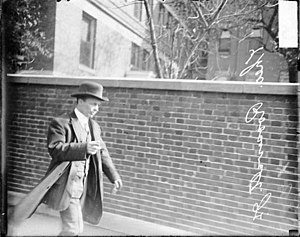 Theodore Roosevelt Jr. - Ted at Mercy Hospital after his father's October 14, 1912 shooting (October 17, 1912)