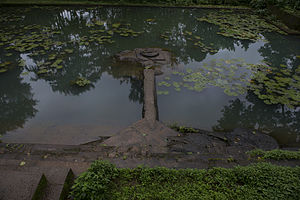 Thirunelli Temple - Panchatheertham - the holy temple pond.