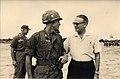 Thomas Taylor and General Maxwell Taylor meet in Vietnam.jpg
