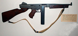 Thompson M1A1 Submachine Gun