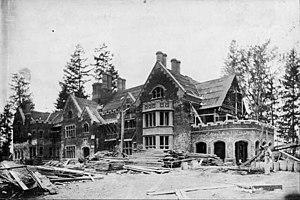 Thornewood - Thornewood under construction in 1910.