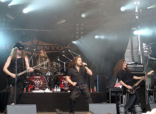 Thunderstone (band) power metal band from Helsinki
