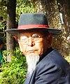 Tibetan spectator at celebrations for TCV's 50th anniversary. Dharamsala.jpg
