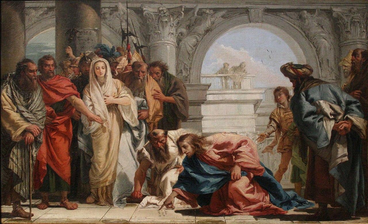 Tiepolo - Le Christ et la femme adultère.jpg