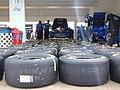 Tires in garage (27559772696).jpg