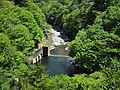 Tochimoto hydroelectric power station weir and lake.jpg