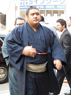 Tochiōzan Yūichirō Japanese sumo wrestler