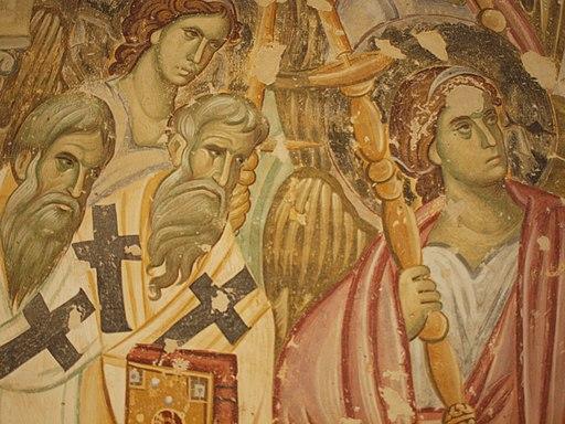Tod der Gottesmutter Sopocani