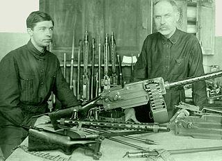 Maxim–Tokarev Type of Light machine gun