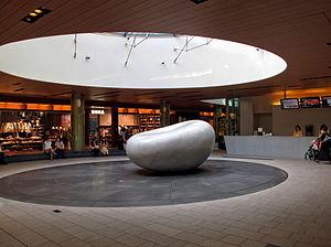 Tokyo Midtown - Sculpture inside Tokyo Midtown Galleria