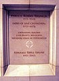 Tomb of Francis Sayre Jr - crossing corridor at crypt level - National Cathedral - DC.JPG