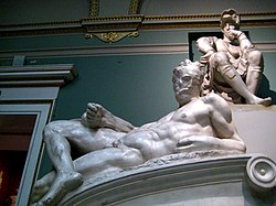 Tomb of Lorenzo de' Medici (casting in Pushkin museum) by shakko 05.jpg