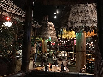 Tiki bar - Tiki bar Tonga Room, San Francisco