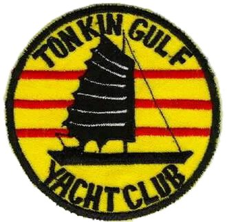 "United States Seventh Fleet - Military humor: Unofficial insignia of the ""Tonkin Gulf Yacht Club"" – aka U.S. 7th Fleet."
