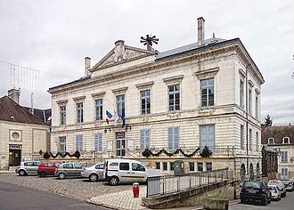 Tonnerre, Yonne - The town hall