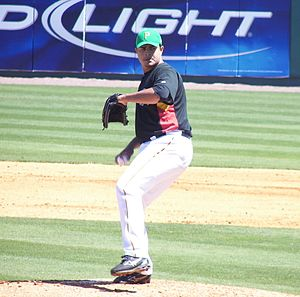 Tony Armas Jr. - Armas Jr. with the Pittsburgh Pirates