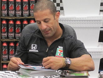 Tony Kanaan - Kanaan at the 2010 Indianapolis 500