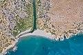 Top down aerial of Preveli beach Greece.jpg
