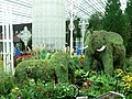 Topiary elephants, Flower Dome, Gardens by the Bay, Singapore - 20141106.jpg