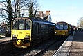 Topsham - GWR 150001 and 143619+143617.JPG