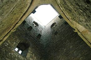 Torre de Glastonbury - Interior.JPG