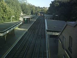 Totteridge platforms