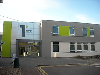 Totton College Further education college in Totton, Southampton, Hampshire, England